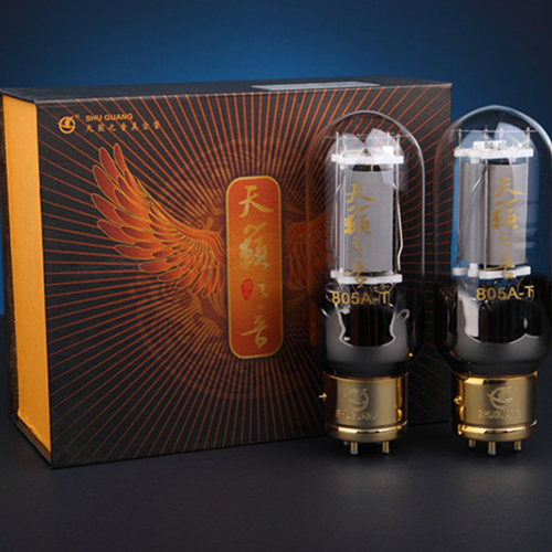 New Matched Pair Tested ShuGuang Sounds Of Nature power Vacuum Tube 805A-T 805