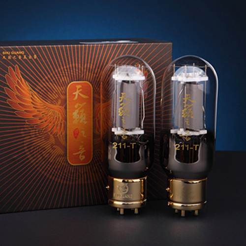 1 Matched Pair Shuguang 211-T Nature Sound High-end Vacuum tube 211