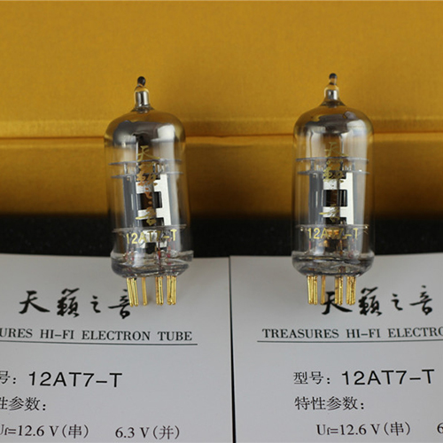 New Matched Pair Shuguang Nature Sound 12AT7-T Preamp Tubes 12AT7 ECC81