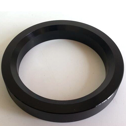 1PC Black color 54mm Aluminum Decorate Base Ring Washer For tube amplifier 300B 6CA7 6P3P