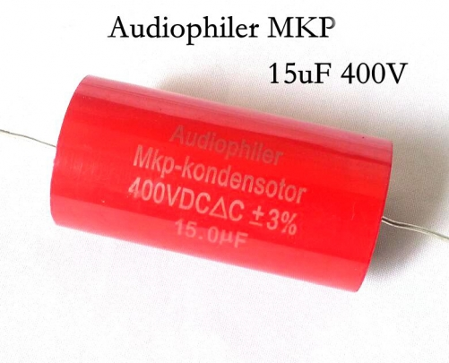 1PC Audiophiler Mkp-kondensotor 400V 15UF Audio capacitor