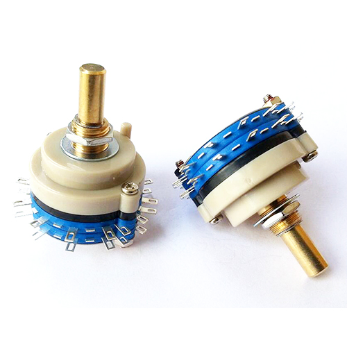 1PC 2pole 6step ROTARY SWITCH Attenuator Pot Potentiometer Volume Control