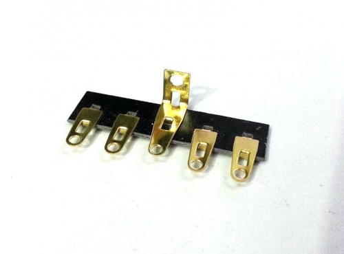 1PC gold plated 5PINS Tube Amp  Terminal Strip Tag Board Turret Board FOR HIFI DIY