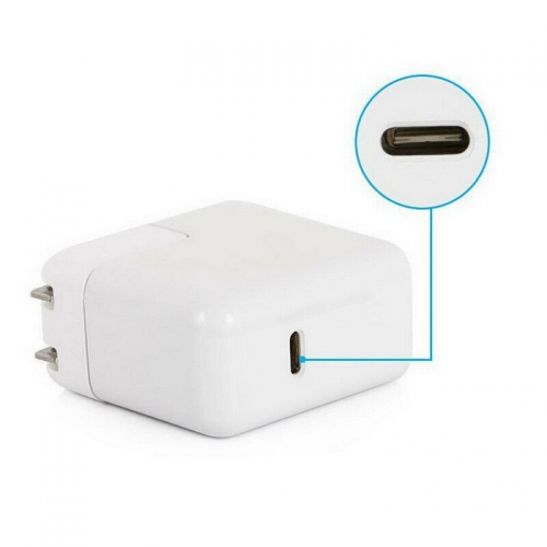 USB 3.1 Type C Power Adapter 87W Charger For Apple Macbook Laptop Power Supply