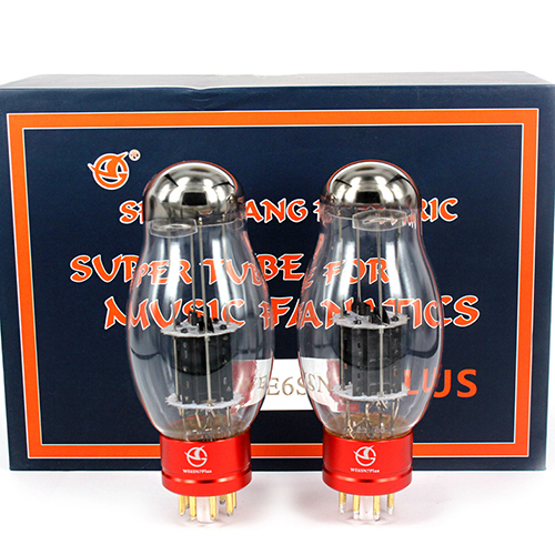 1 matched pair HIFI diy Audio tube Shuguang WE6SN7 PLUS Vacuum Tube 6SN7