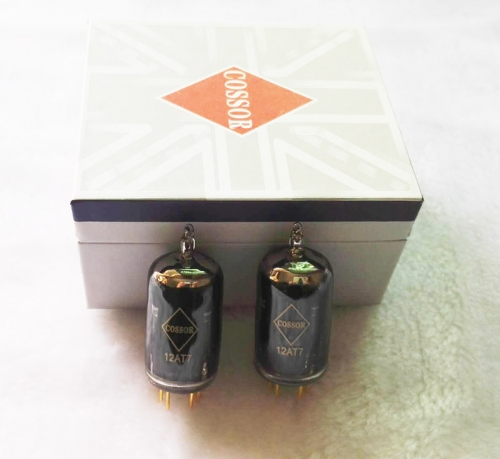 1 matched pair Psvane COSSOR 12AT7 Vacuum Tube 12AT7-T  ECC81