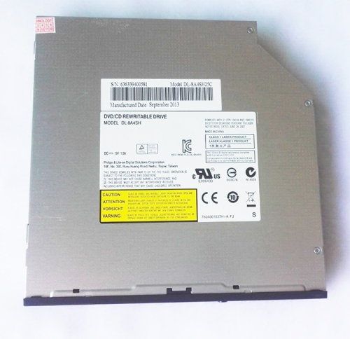 DL-8A4SH 8X DVD RW Recorder 24X CD Writer Slot-in 12.7mm SATA Laptop Optical Drive