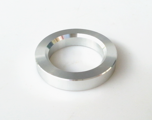 1PC Silver color 34mm Aluminum Decorate Base Ring Washer For tube amplifier 12AX7 ECC83 6922