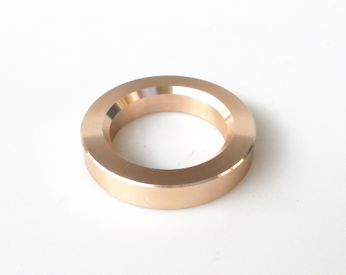 1PC Gold color 34mm Aluminum Decorate Base Ring Washer For tube amplifier 12AX7 ECC83 6922