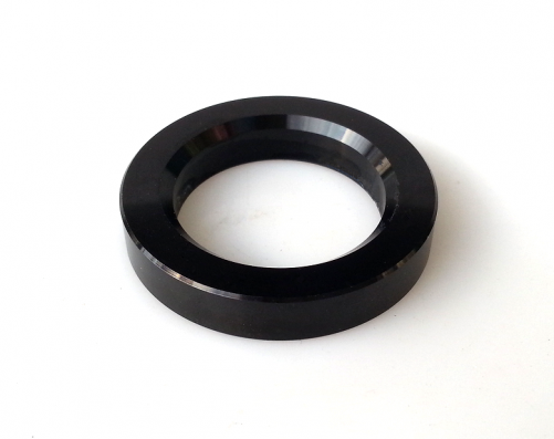1PC Black color 34mm Aluminum Decorate Base Ring Washer For tube amplifier 12AX7 12AT7 6922 EL84 6N1